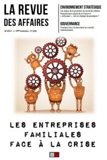 Parution du troisième numéro de la Revue des Affaires (2014-3, 4ème trimestre)