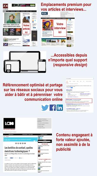 Communication éditoriale et Display