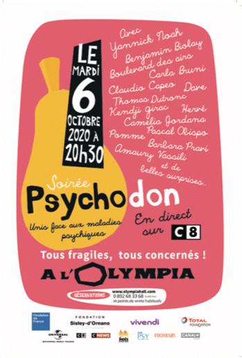 Par Christine de Langle : « Tous fragiles, tous concernés », le Psychodon est à l'Olympia le 6 octobre 2020