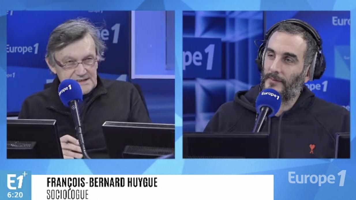 """""""Dans la tête des gilets jaunes"""" : François-Bernard Huyghe au micro d'Europe 1"""