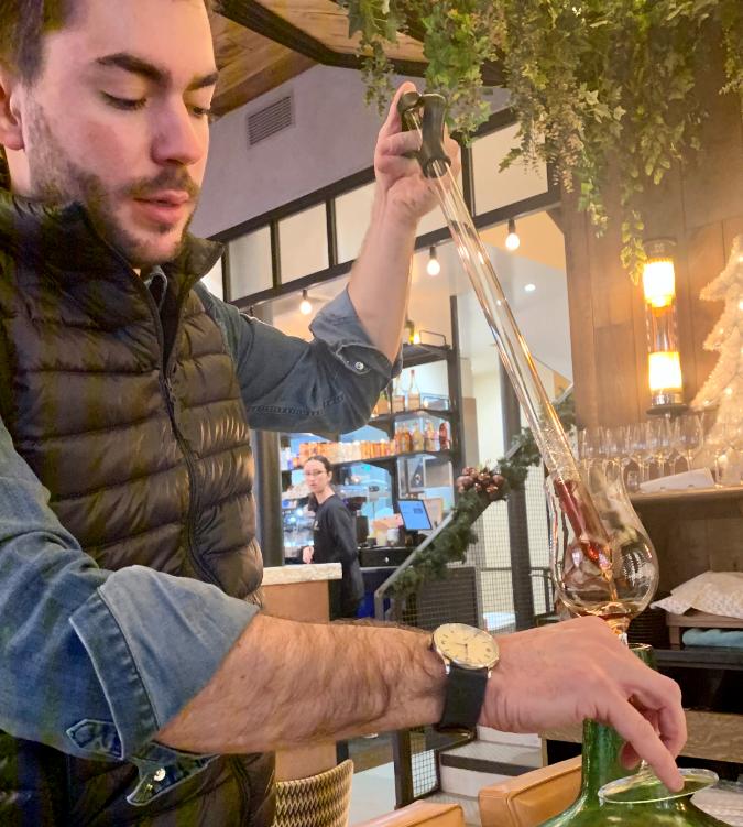 """""""Un espoir de taille pour les vins doux naturels """" par Sébastien Burel sur le JDE"""
