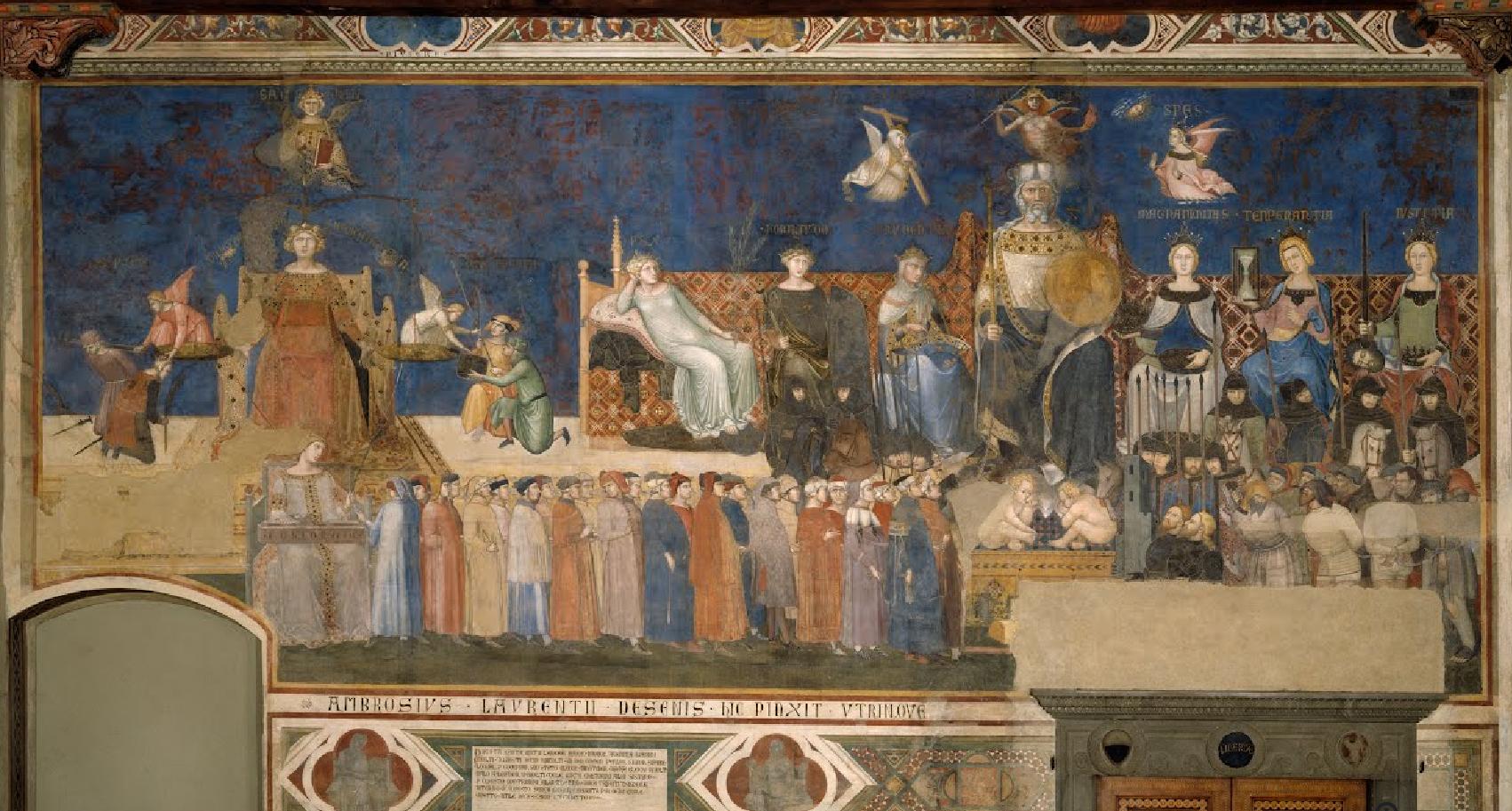 Allégorie du Bon Gouvernement Ambrogio Lorenzetti 1338 - 1339