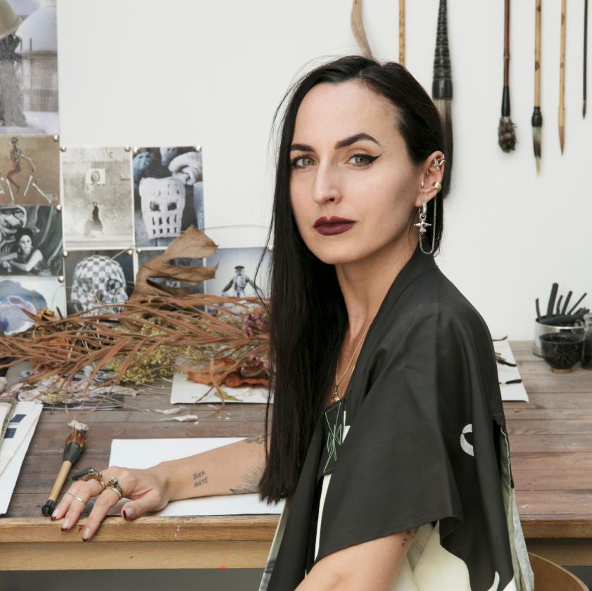 """""""Portrait d'Artiste : Entretien avec Charlotte Cornaton"""" par Bertrand Coty"""